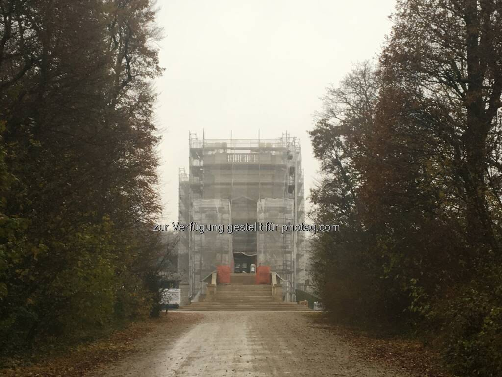 Christo-Gloriette an Nebelsuppe (16.11.2016)