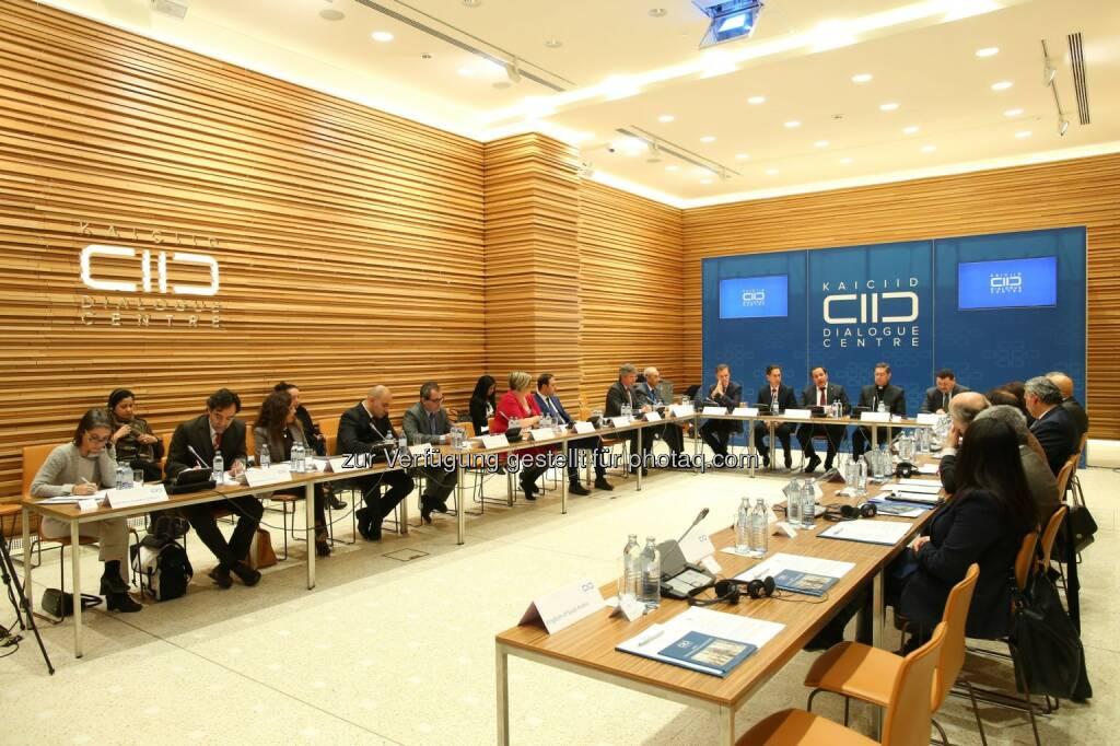 KAICIID Dialogue Centre: Treffen der lateinamerikanischen und karibischen Botschafter im KAICIID in Wien (Fotograf: Ludwig Schedl - Fotocredit: KAICIID Dialogue Centre/APA-Fotoservice/Schedl), © Aussendung (18.11.2016)