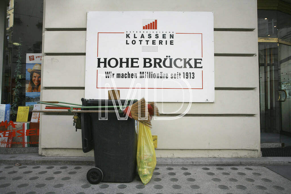 Hohe Brücke, Lotterie, Wien, © Martina Draper (15.12.2012)