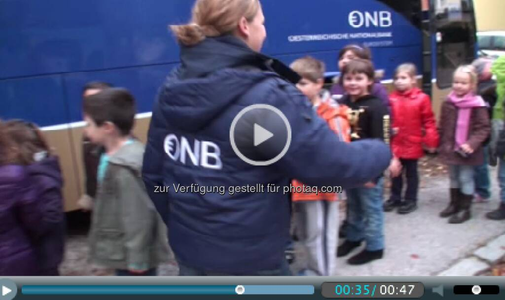 OeNB: Start der Euro-Info-Tour 2013 - http://www.oenb.at/euro-bus (06.05.2013)