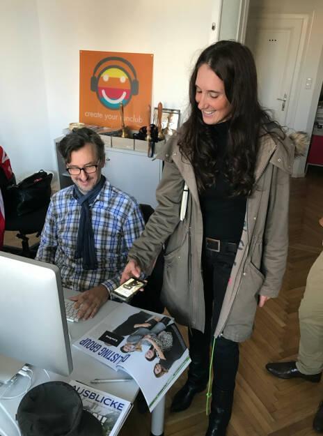 Augmented Reality Idee auf Basis der Rosinger Group Strecke: Josef Chladek und Petra Augustyn  (22.11.2016)