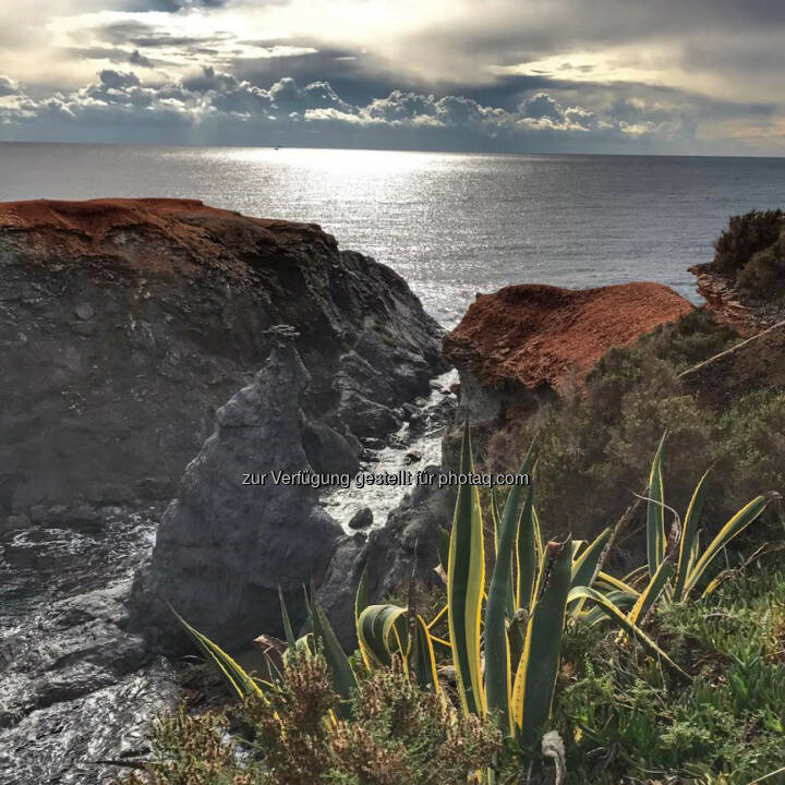 Felsen, Küste, Spanien