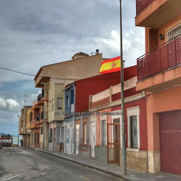 Spanien, Fahne, Flagge, © Florian Neuschwander (25.11.2016)