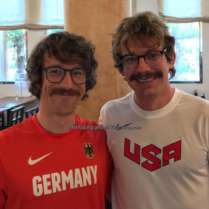 Florian Neuschwander und Matt Flaherty