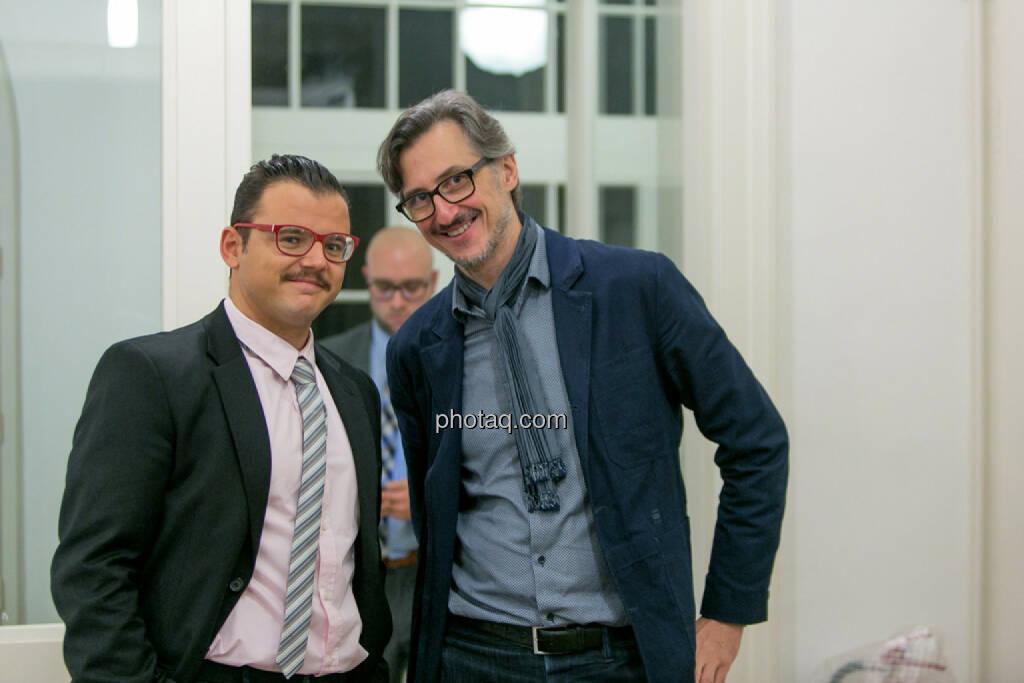 Michael Plos (BSN), Josef Chladek (BSN), © Martina Draper/photaq (27.11.2016)
