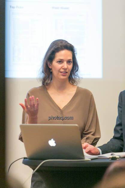 Christine Reitsamer (Baader Bank), © Martina Draper/photaq (27.11.2016)