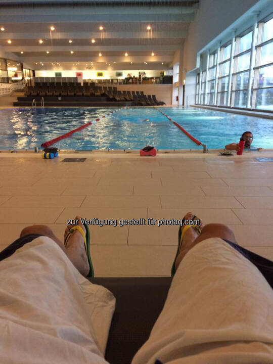 Schwimmbad, relax