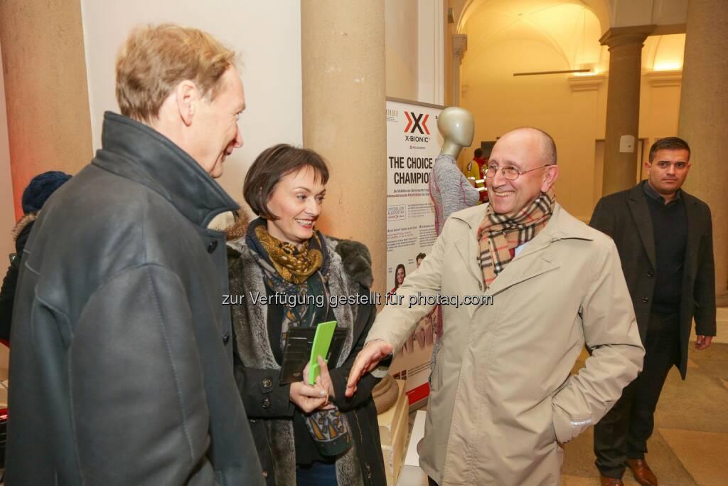 Edith Franc, Ludwig Nießen - Wiener Börse Punsch 2016, © Wiener Börse AG/APA-Fotoservice/Tanzer (02.12.2016)