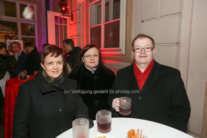 Yvette Rosinger, Gregor Rosinger - Wiener Börse Punsch 2016