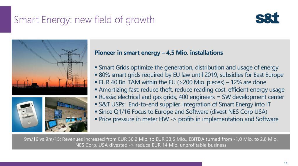 S&T Smart Energy (02.12.2016)