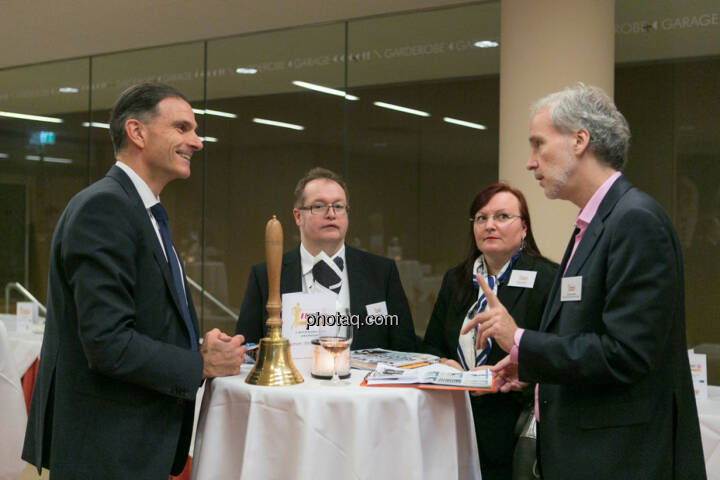 Peter Haidenek (Polytec, Sieger Business Athlete Award 2016), Gregor Rosinger (Rosinger Group), Yvette Rosinger, Christian Drastil (BSN)