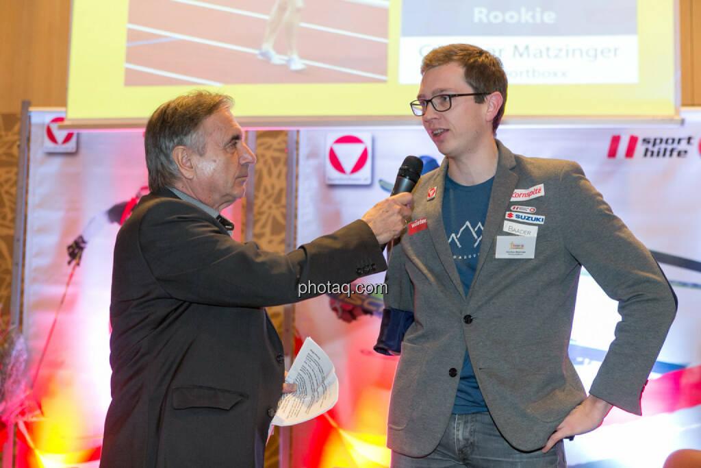 Hans Huber, Günther Matzinger, © Martina Draper/photaq (06.12.2016)
