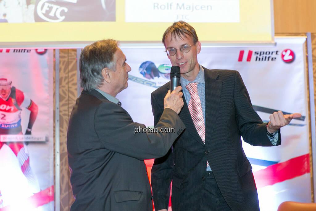 Hans Huber, Rolf Majcen (FTC), © Martina Draper/photaq (06.12.2016)