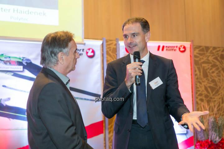 Hans Huber, Peter Haidenek (Polytec)