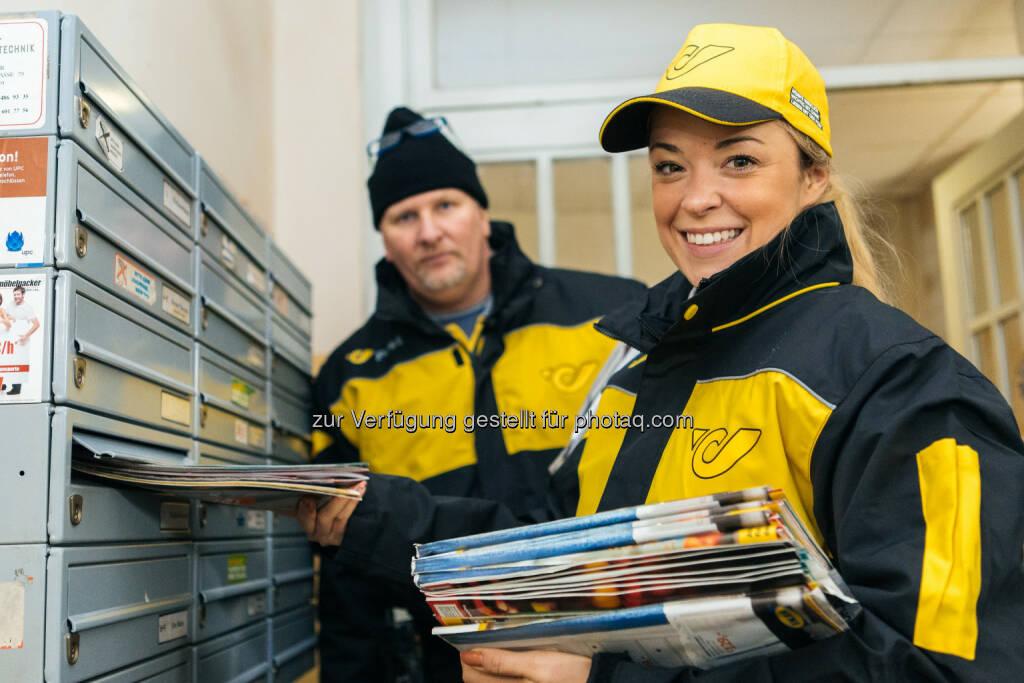 Marina Hoermanseder:  Österreichische Post AG: Marina Hoermanseder entwirft neue Post-Uniformen (C) wardanetwork.at | Thomas Unterberger, © Aussendung (06.12.2016)