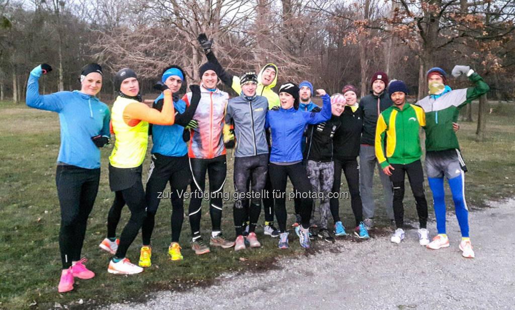 team2012 beim Training, © Wilhelm Lilge (07.12.2016)