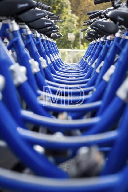 Fahrräder, Wien, © Martina Draper (15.12.2012)
