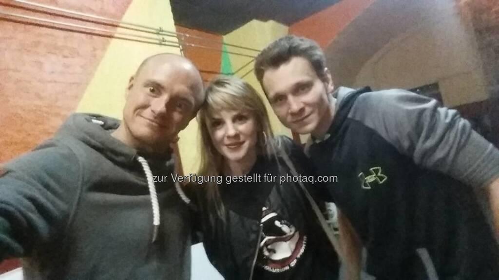Markus Steinacher, Lisa Kössler, Levente Bertalan  (10.12.2016)