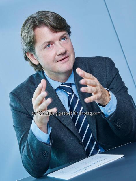 """Gerald Fleischmann (GD Volksbank Wien AG): Volksbanken: 35 Fusionen """"erfolgreich"""" umgesetzt (C) Robert Polster, © Aussender (12.12.2016)"""