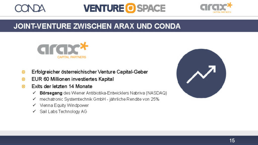 Conda Joint-Venture Arax (12.12.2016)