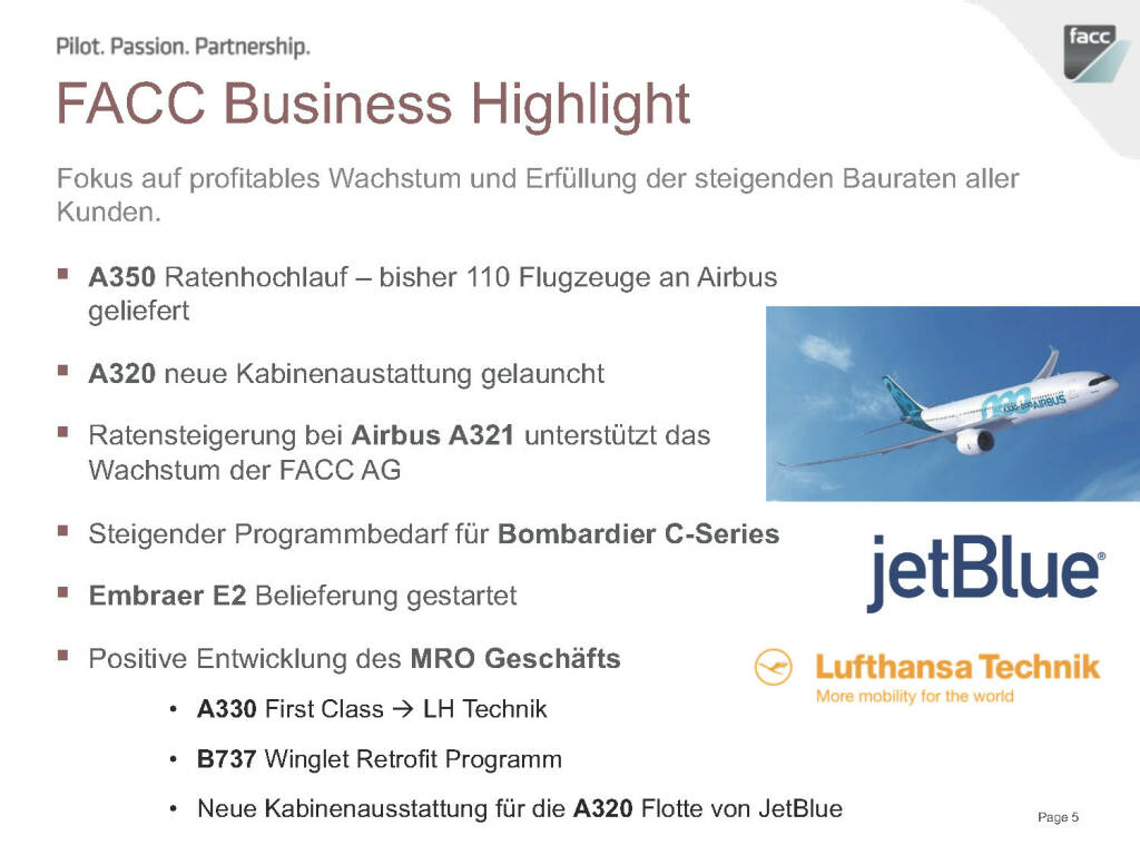 FACC Business Highlight (12.12.2016)