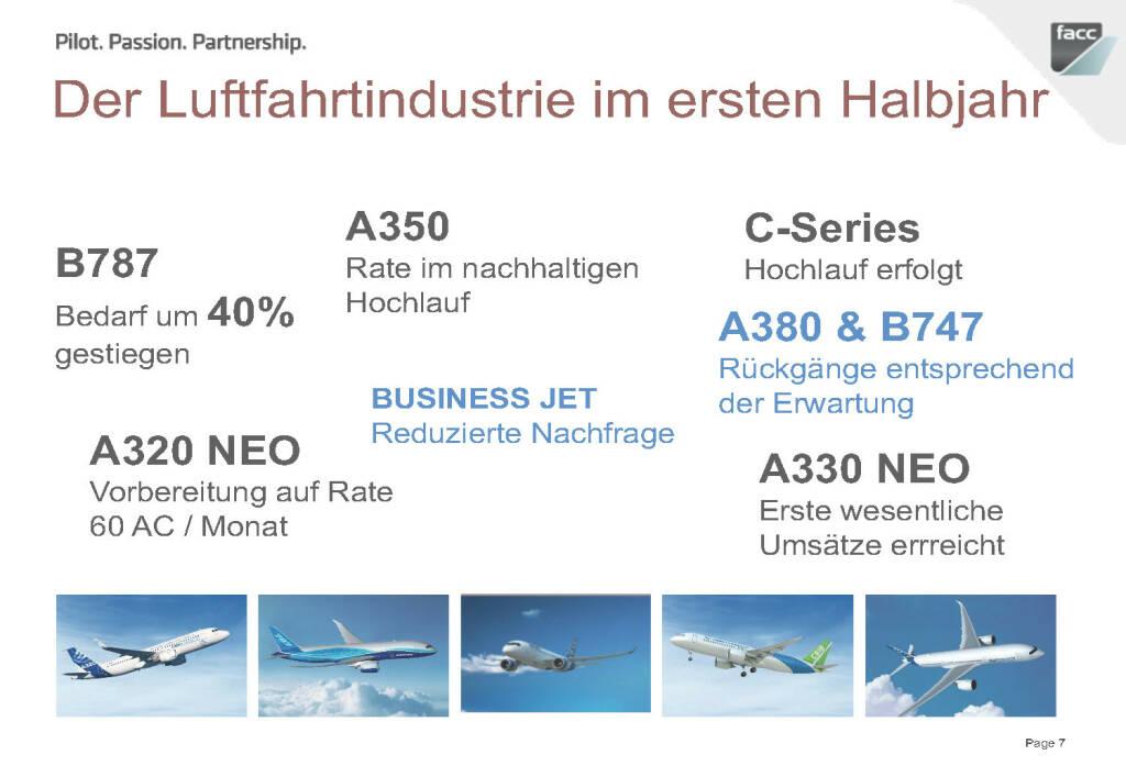 FACC Luftfahrtindustrie im ersten Halbjahr (12.12.2016)