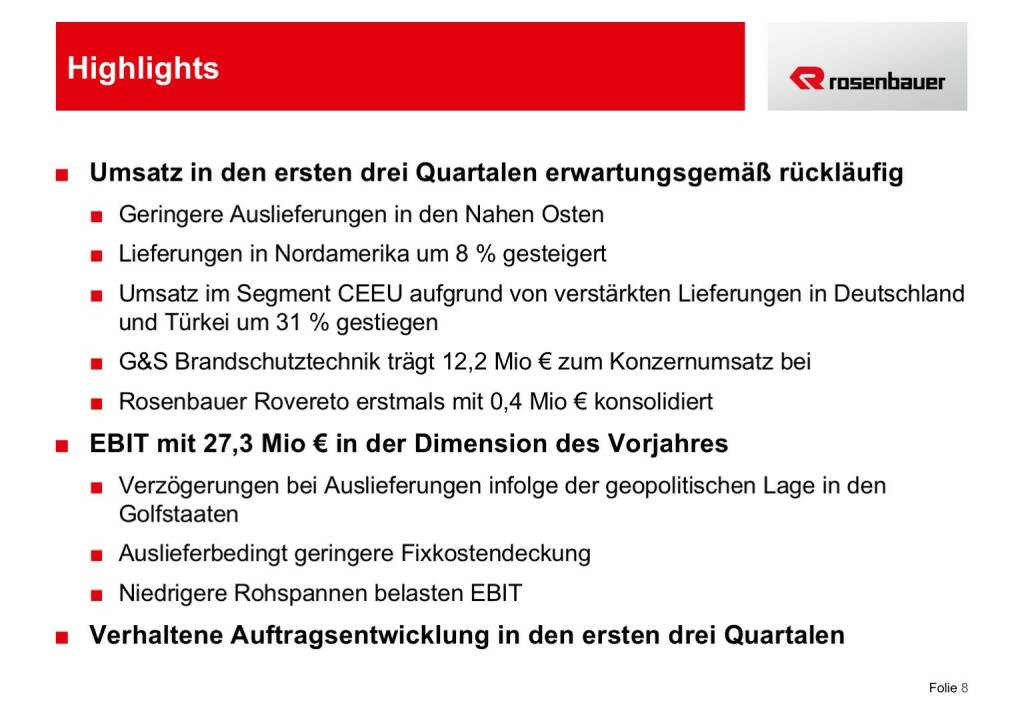 Rosenbauer Highlights (12.12.2016)