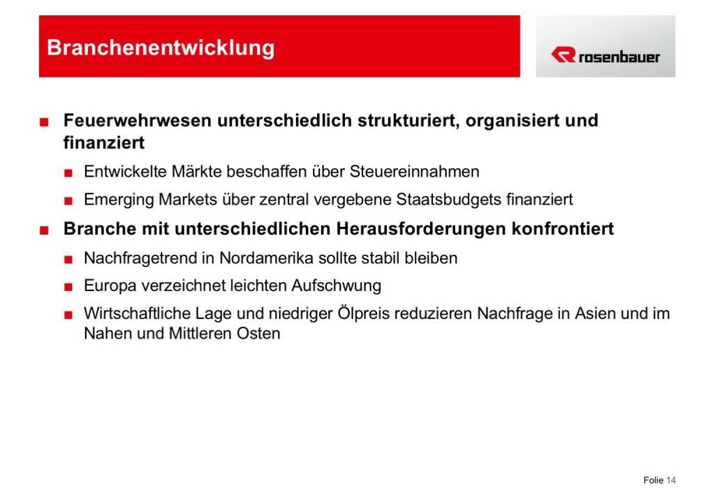 Rosenbauer Branchenentwicklung (12.12.2016)
