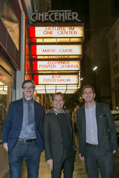 Josef Chladek (BSN), Paul Pöltner (Conda), Michael Lipper (Conda), © Martina Draper/photaq (13.12.2016)