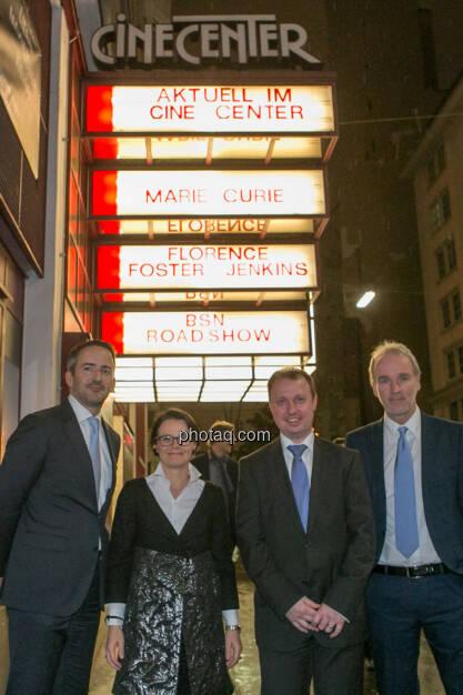 Manuel Taverne (FACC), Gerda Königstorfer (Rosenbauer), Aleš Stárek (FACC), Christian Drastil (BSN), © Martina Draper/photaq (13.12.2016)