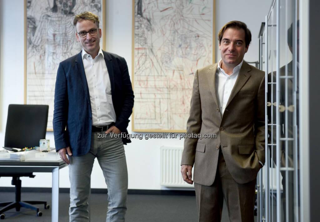 Matthias Opis, Rainer Nowak: Styria Media Group AG: Molden kehrt zurück (C) Clemens Fabry, © Aussendung (13.12.2016)