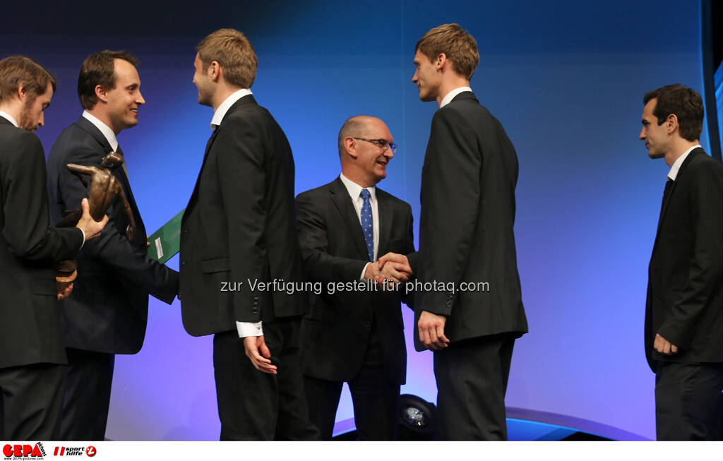 Spieler des UVC Graz, Foto: GEPA pictures/ Markus Oberlaender (08.05.2013)