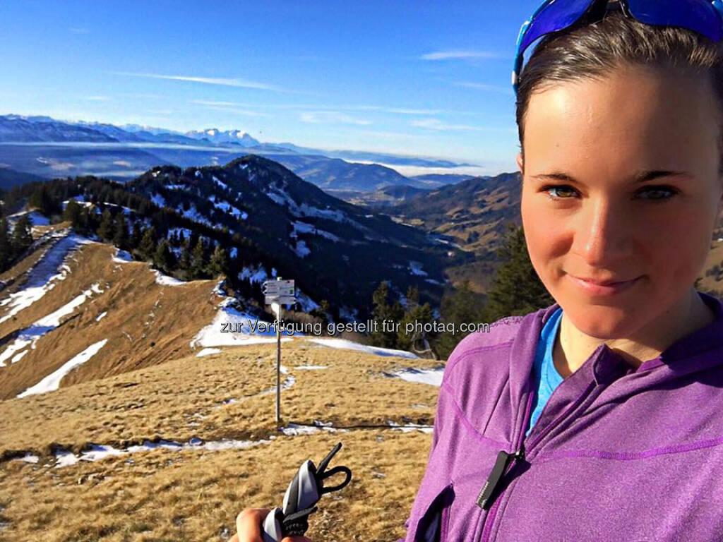 Tanja Stroschneider, Gipfel, Ziel, Ausblick, © Tanja Stroschneider (15.12.2016)