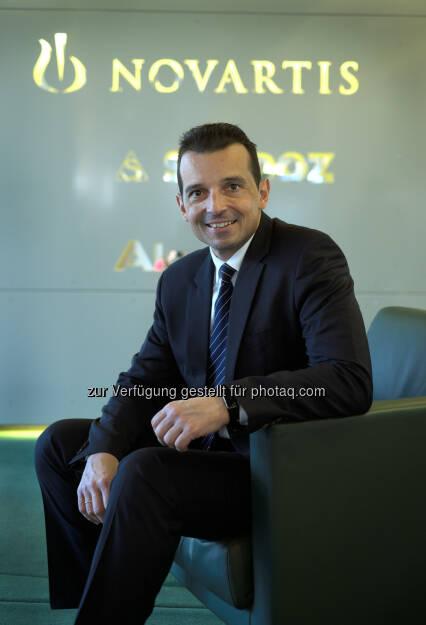 George Zarkalis, Country President Novartis Austria: Novartis Austria GmbH: Novartis trägt 1,4 Milliarden EUR zur heimischen Wertschöpfung bei (C) Novartis, © Aussender (16.12.2016)