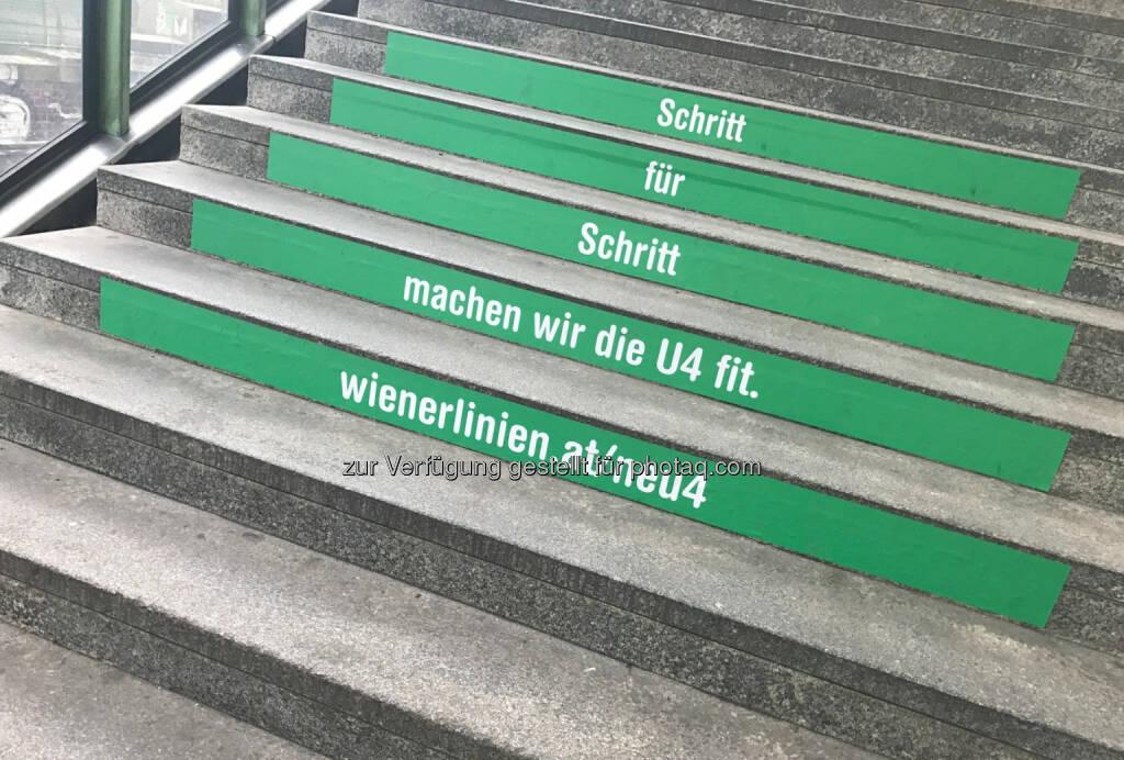 Schritt für Schritt machen wir die U4 fit, der Scherz des Jahres (18.12.2016)