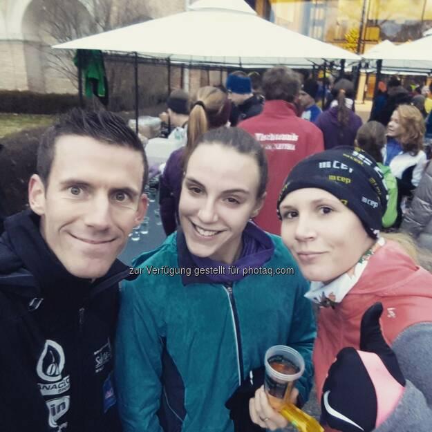 Werner Schrittwieser, Lisa Strobl und Petra Richter (18.12.2016)