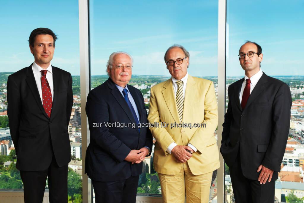 Florian Petrowsky, Georg Folian, Franz Jurkowitsch, Alexander Jurkowitsch (Fotocredit: Warimpex) (22.12.2016)