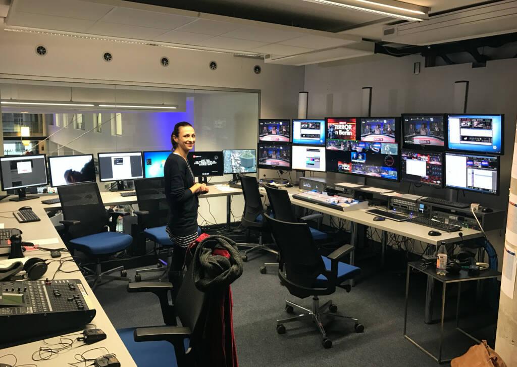 Zu Besuch im Produktionsroom von oe24.tv (22.12.2016)