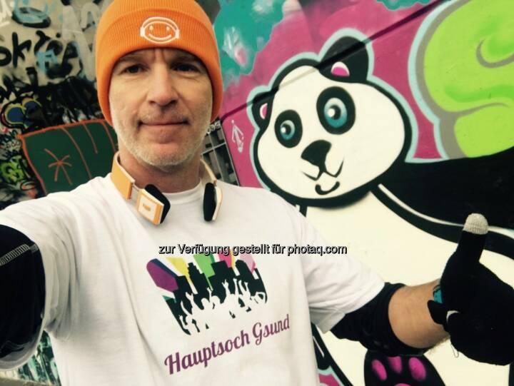 Hauptsoch Gsund: Der Panda und der Mann da