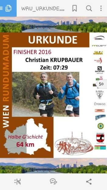 Christian Krupbauer Nominierung Mein Sportschnappschuss 2016 beim Wien rundumadum - - Voten und/oder auch sich selbst nominieren unter http://www.facebook.com/groups/Sportsblogged (26.12.2016)