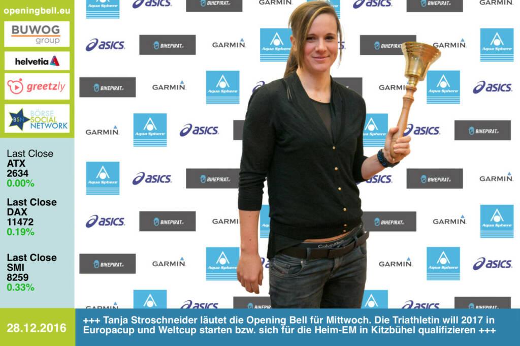 #openingbell am 28.12.: Tanja Stroschneider läutet die Opening Bell für Mittwoch. Die Triathletin will 2017 in Europacup und Weltcup starten bzw. sich für die Heim-EM in Kitzbühel qualifizieren http://photaq.com/search/stroschneider https://www.facebook.com/groups/Sportsblogged  (28.12.2016)