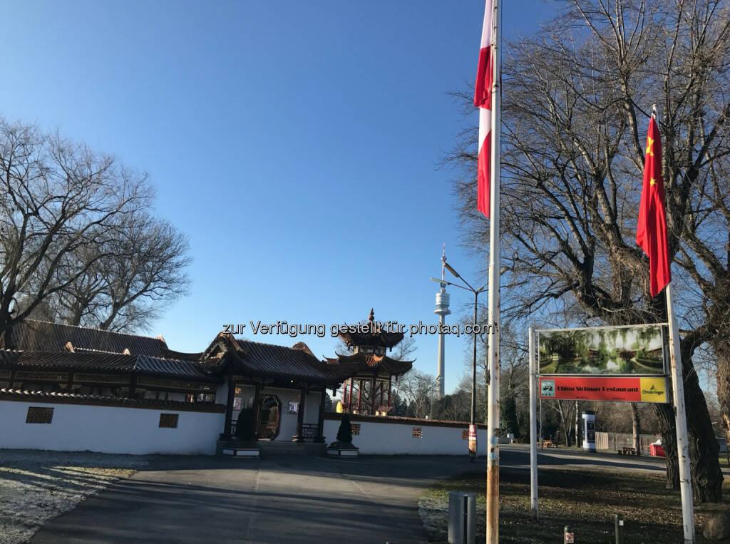 Der Chinese beim Donaupark (31.12.2016)