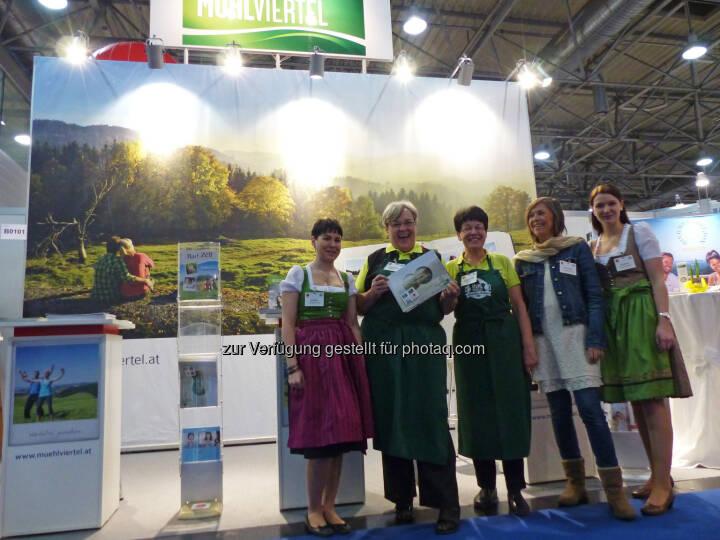 Mühlviertel Marken GmbH: Die Urlaubsregion Mühlviertel zu Gast bei der Ferien-Messe in Wien (Fotocredit: OÖ. Tourismus)