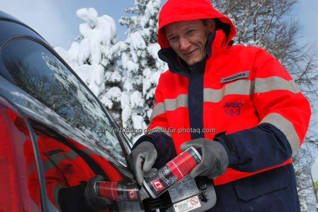 ARBÖ: Dauerfrost lässt Diesel einfrieren (Fotocredit: ARBÖ), © Aussendung (05.01.2017)