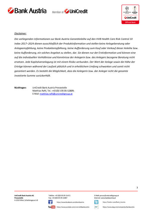 Die neue Bank Austria GarantAnleihe auf den HVB Health Care Risk Control 10, Seite 3/3, komplettes Dokument unter http://boerse-social.com/static/uploads/file_2048_die_neue_bank_austria_garantanleihe_auf_den_hvb_health_care_risk_control_10.pdf