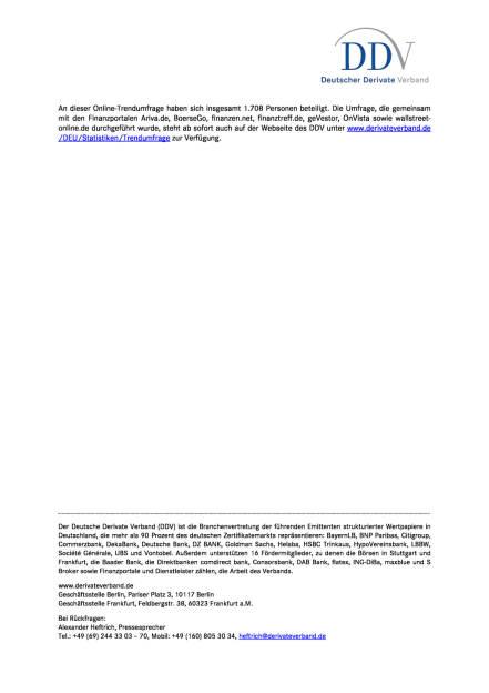 DDV-Umfrage: Nachfrage nach Teilschutz-Zertifikaten zieht weiter an, Seite 2/2, komplettes Dokument unter http://boerse-social.com/static/uploads/file_2050_ddv-umfrage_nachfrage_nach_teilschutz-zertifikaten_zieht_weiter_an.pdf (11.01.2017)