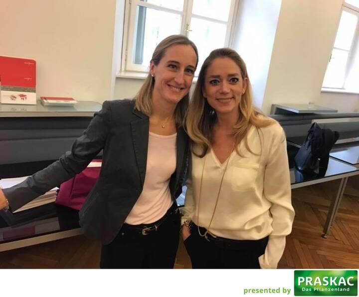 Valerie Ferencic, Elke Müller veranstalten ZFA Jahresauftakt