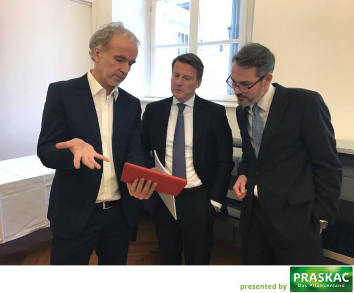 Mit Lars Brandau und Heiko Geiger