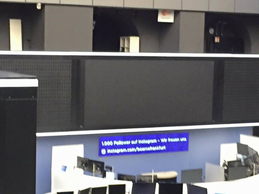 Börse Frankfurt , thx an Viola Grebe