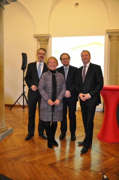 Heiko Geiger, Heike Arbter, Markus Kaller, Frank Weingarts, © Valerie Ferencic / ZFA (22.01.2017)